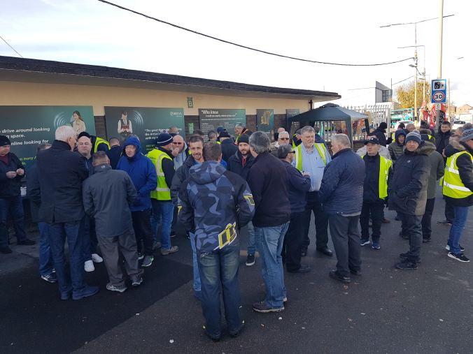 Unite bus workers